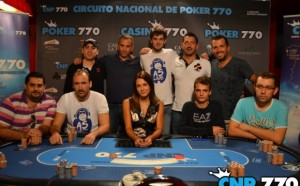 Los 9 integrantes de la mesa final del CNP770